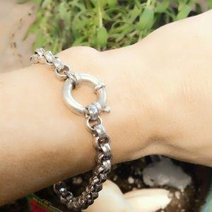 Vintage Sterling Box Link Bracelet-Coming Soon!